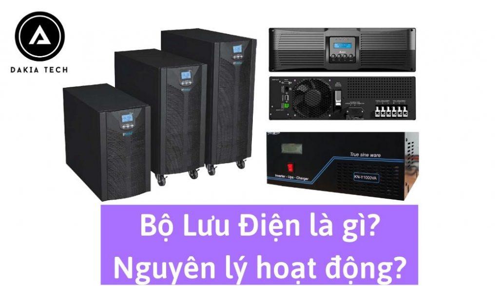 Bộ lưu điện là gì? 3 Loại Bộ lưu điện (UPS) và nguyên lý hoạt động của chúng?