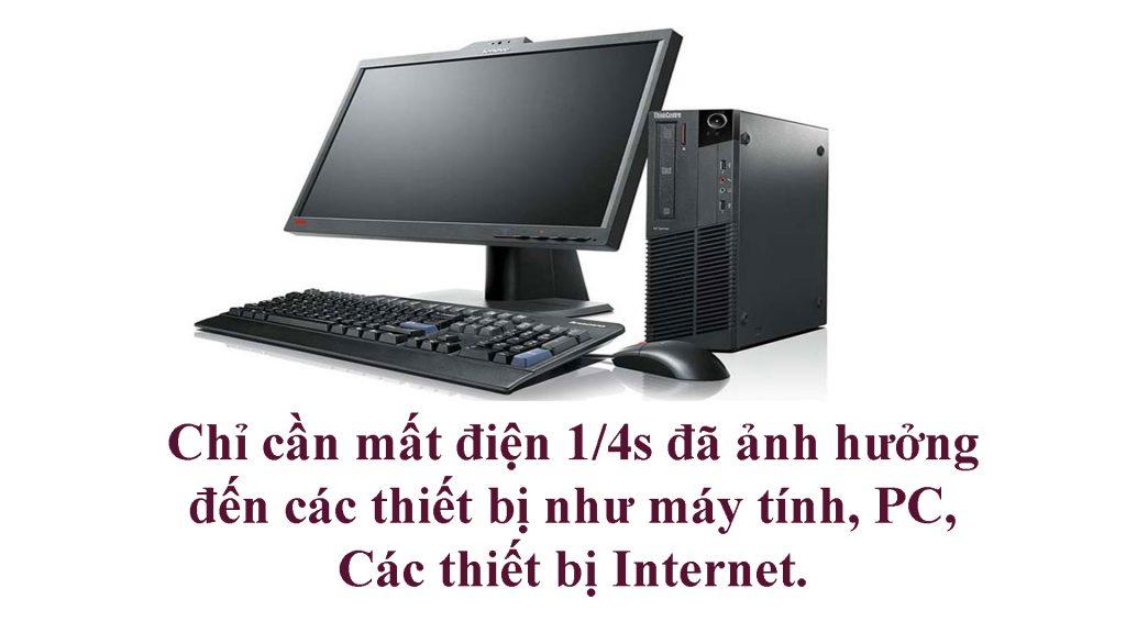 Máy tính cần được bảo vệ nguồn điện