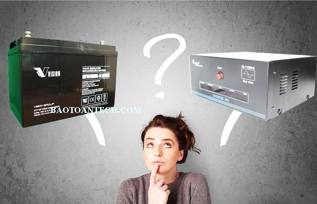 Cách chọn UPS và Acquy UPS phù hợp cho hà yến