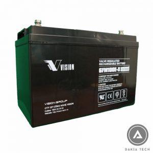 Dakia cung cấp Acquy Vision 12V 100Ah 6FM100E-X