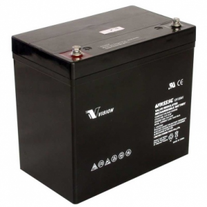 Acquy Vision 12V 55Ah chuyên dùng cho UPS