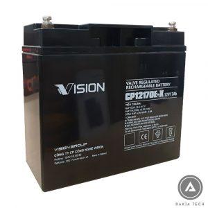 DAKIA TECH cung cấp Acquy Vision 12V 17Ah CP12170E-X