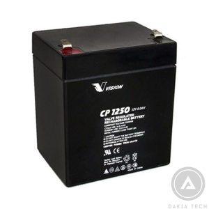 Nơi bán Acquy Vision CP1250 12v-5Ah