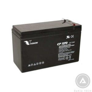 Acquy Vision CP1270 12V-7AH chuyên dùng UPS