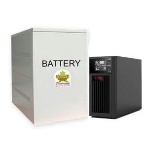Bộ lưu điện 1KVA UPS SANTAK ONLINE C1KS (LCD)