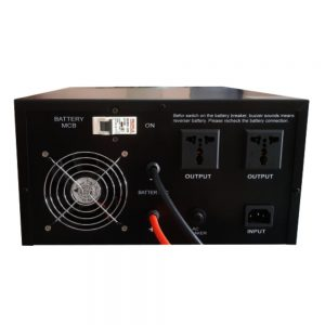 Mặt sau Inverter UPS Kano 1500VA 1000W 12V