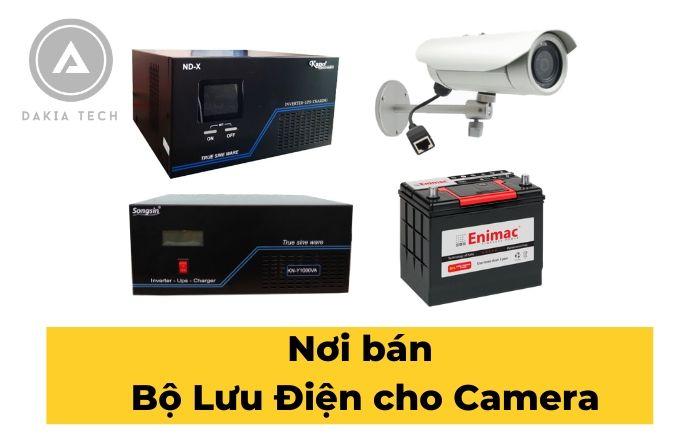 Nơi bán Bộ Lưu Điện cho Camera tại TP.HCM giá rẻ