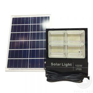 Đèn pha Năng lượng mặt trời 100W - Model BM100 giá rẻ