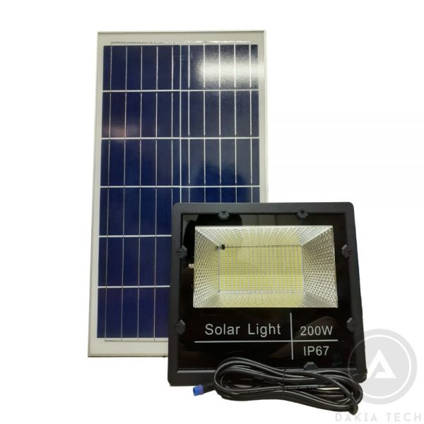 Nơi bán Đèn pha Năng lượng mặt trời 200W - Model YY200