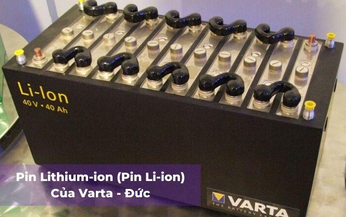 DakiaTech cung cấp Pin Lithium - ion Varta của Đức 40V-40Ah