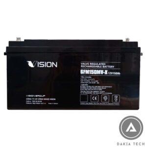 Acquy Vision 12V 150Ah 6FM150MV-X - giá tốt, chính hãng từ DAKIA