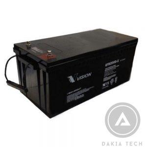 Acquy vision 6fm200d-x (12v - 200ah) giá rẻ tại TPHCM