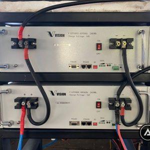 Pin Lithium – ion Vision 48V 50Ah Model V-LFP4850 giá rẻ tại TPHCM