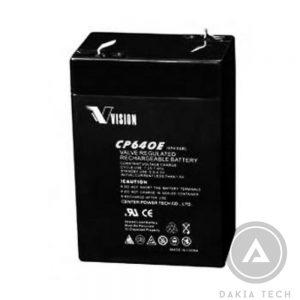 Acquy Vision CP640E (6V - 4Ah)