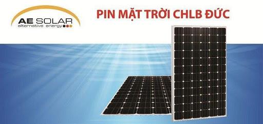 Tấm Pin Năng lượng mặt trời AE Solar 370W từ Germany