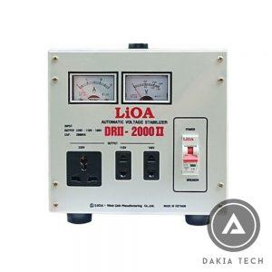 Ổn áp LIOA 2KVA DRII (50V-250V)