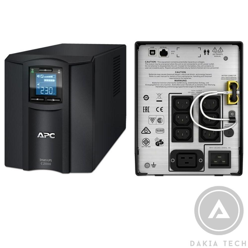 Bộ Lưu Điện UPS APC SMC2000I 2000VA (2KVA/1.3KW)