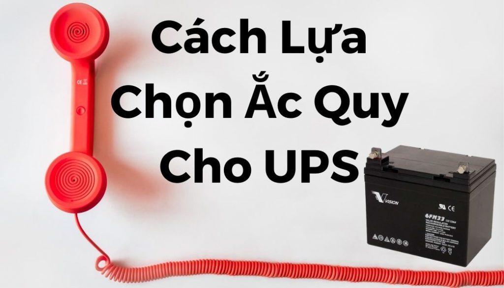 Ắc Quy Cho UPS