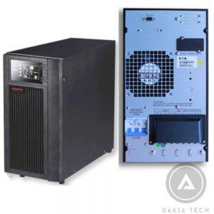 UPS Santak True Online 3C10KS (LCD), Sử Dụng Acquy Ngoài