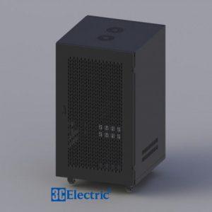 Tủ Rack C-RACK 20U-D600 Mã 3C-R20B06