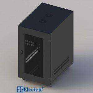 Tủ Rack C-RACK 20U-D800 Mã 3C-R20B08M