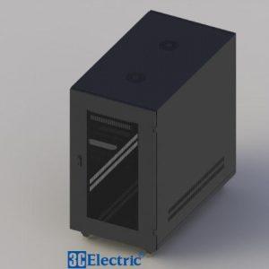 Tủ Rack C-RACK 20U-D1000 Mã 3C-R20B10M