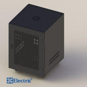 Tủ Rack C-RACK 12U-D600 Mã 3C-RW12B06