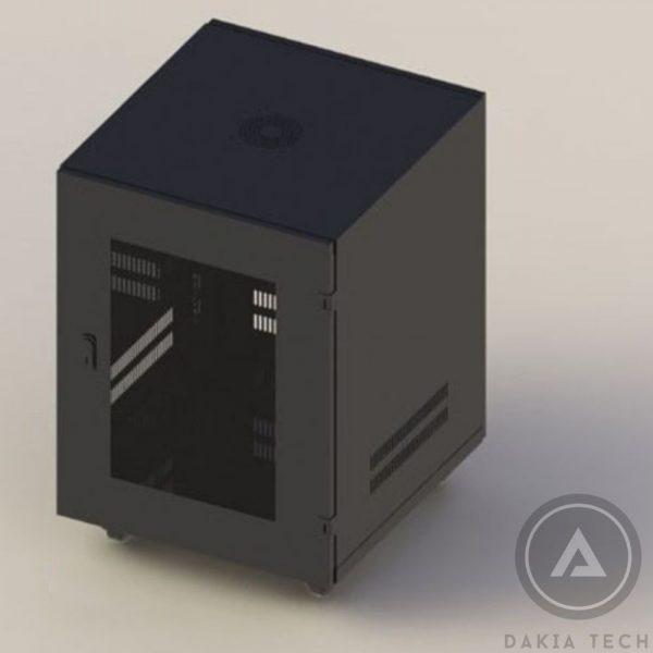 Tủ Mạng C-RACK 15U-D600 Mã 3C-R15B06M Màu Đen