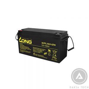 Ắc Quy Kín Khí Globe-Long 12V-150Ah WPL150-12N