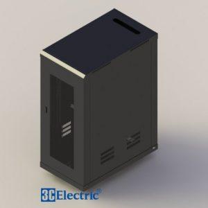 Tủ Rack C-RACK 27U-D1000 Mã 3C-R27B10M Đen