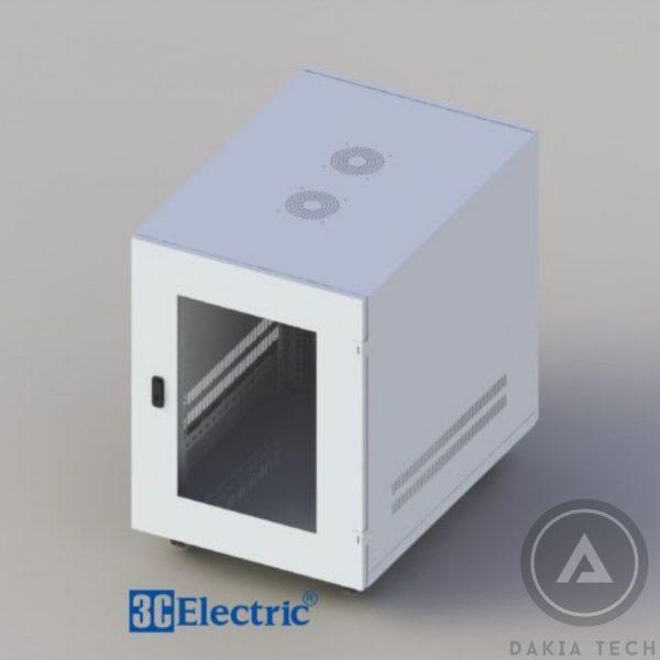 Tủ Mạng C-RACK 15U-D800 Mã 3C-R15W08M