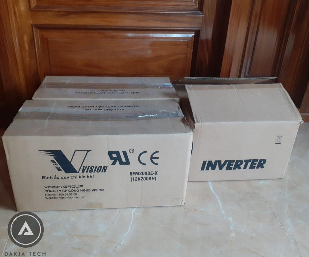 Khách hàng sử dụng Combo UPS Backup cho hệ thống Internet tòa nhà
