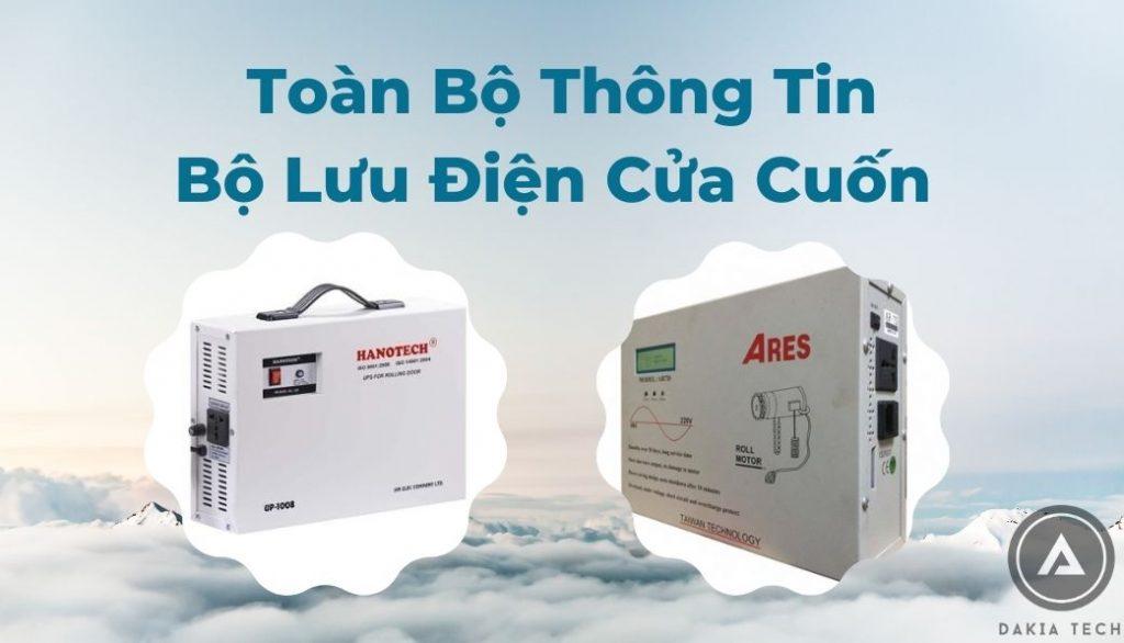 Bộ Lưu Điện Cửa Cuốn Hot Nhất Hiện Nay_dakia
