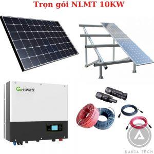 Trọn gói lắp đặt Điện Năng lượng mặt trời hòa lưới 10KW