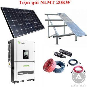 Trọn gói lắp đặt Điện Năng lượng mặt trời hòa lưới 20KW