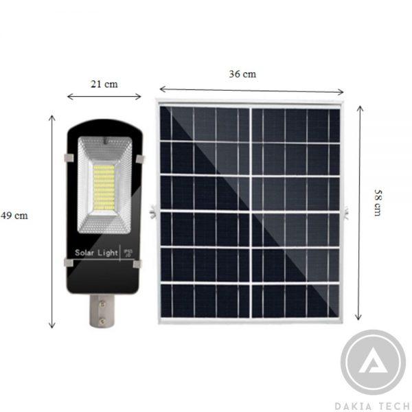 Đèn Pha Led Năng Lượng Mặt Trời-JD66100