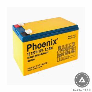 Acquy Phoenix 12V 7.5Ah TS1275 Made in VN công nghệ Korea