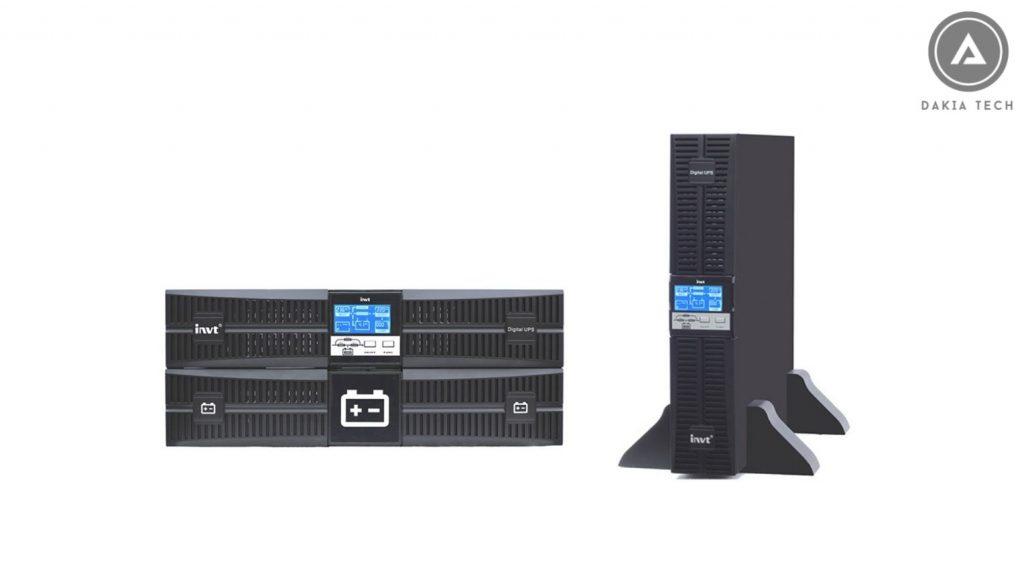 Dòng sản phẩm Bộ Lưu Điện INVT - Dạng Rack HR11 công suất từ 1KVA - 10KVA
