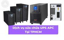 DAKIATech cung cấp Dịch vụ sửa chữa UPS APC, Delta, Tại TPHCM