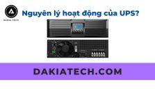 Nguyên lý hoạt động của Bộ lưu điện DakiaTECH