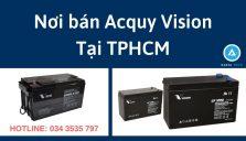 Nơi bán Acquy Vision giá rẻ tại TPHCM