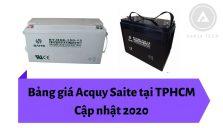 Bảng giá Acquy Saite tại TPHCM - Cập nhật 2020